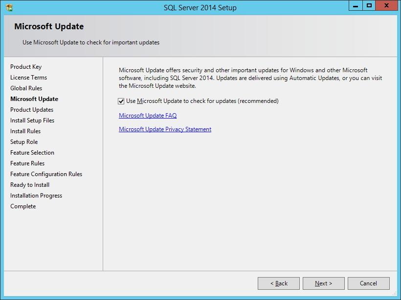 SQL Server - Atualizações