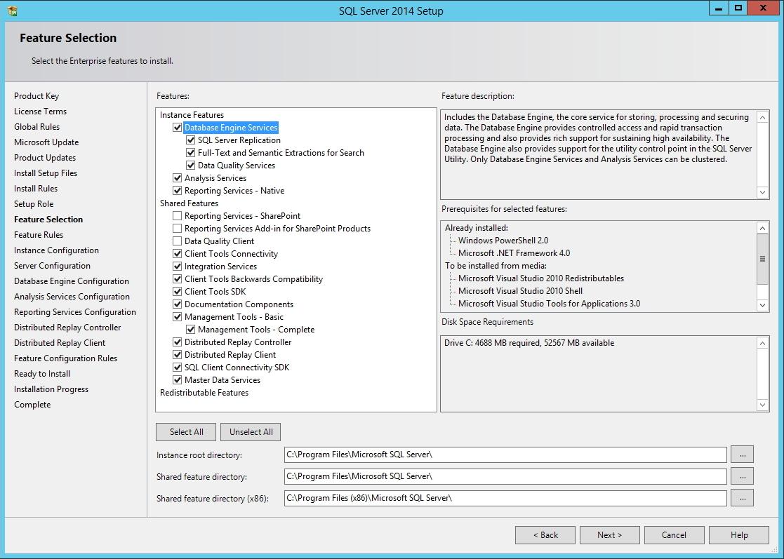 SQL Server - Componentes
