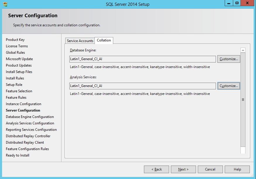 SQL Server - Configuração de Collation