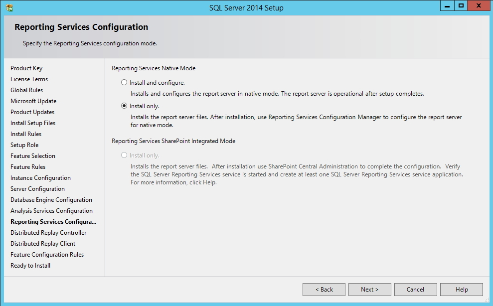 SQL Server - Reporting Services