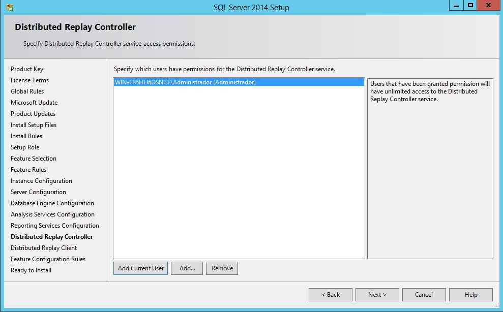SQL Server - Distributed Replay Controller