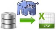 PHP e MySQL para CSV