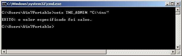 Oracle Client - Configuração 1
