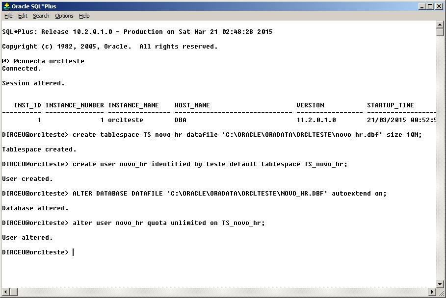 Creating and Restoring DUMPs (Logical Backups) in Oracle Database 11g (exp  and imp) - Dirceu Resende
