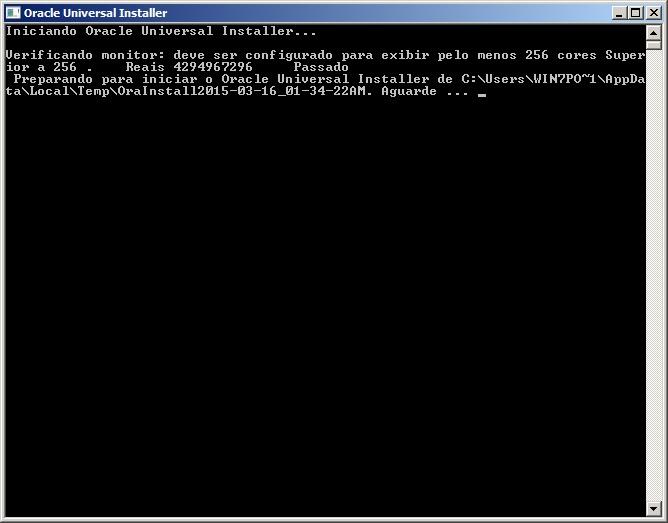 Oracle - Instalação 1