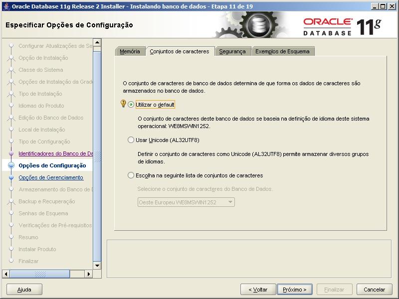Oracle - Instalação 13
