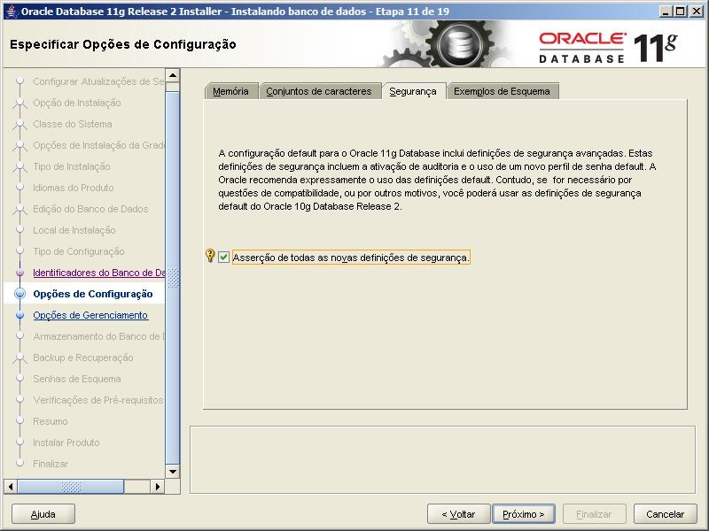 Oracle - Instalação 14