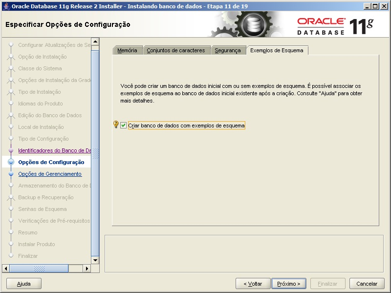 Oracle - Instalação 15