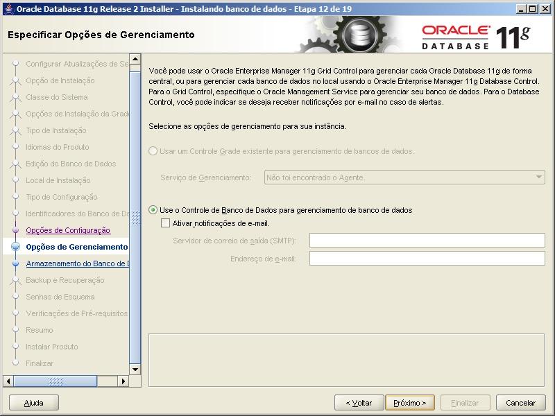 Oracle - Instalação 16