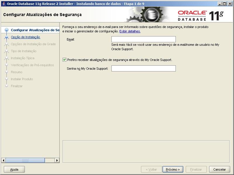 Oracle - Instalação 2