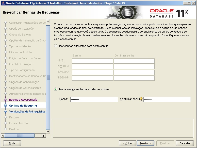 Oracle - Instalação 20