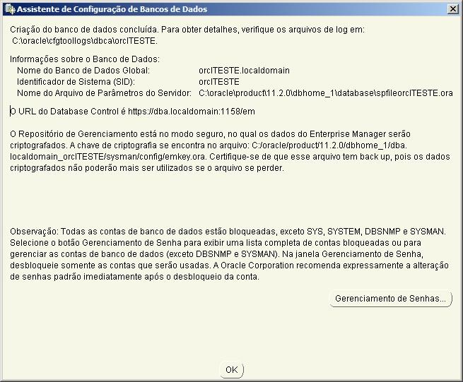 Oracle - Instalação 24