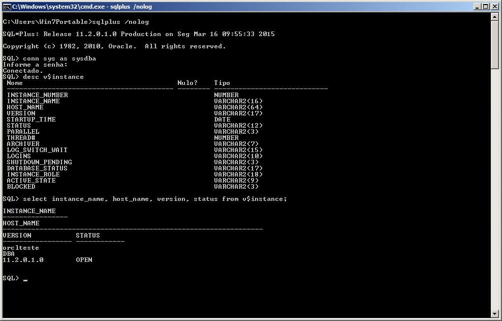 Oracle - Instalação 26