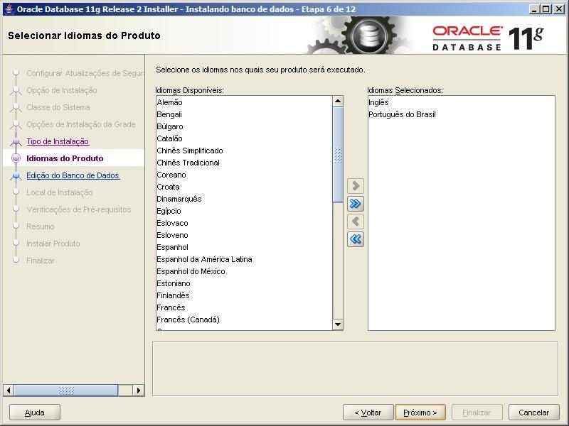 Oracle - Instalação 6