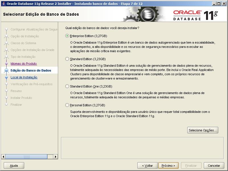 Oracle - Instalação 7
