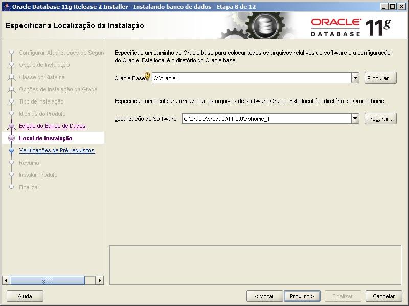 Oracle - Instalação 8