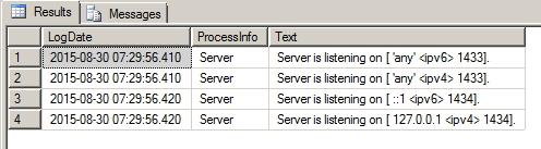 Como identificar a porta utilizada pelo SQL Server - 1