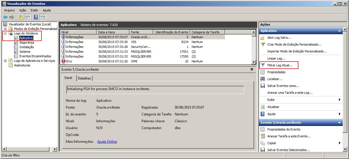 Como identificar a porta utilizada pelo SQL Server - 5