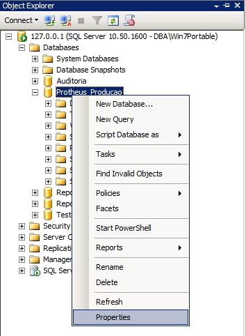 SQL Server - Permissões dos usuários - Interface GUI 3