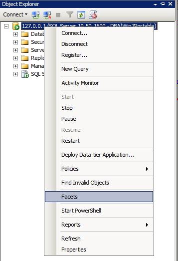SQL Server - Ativar DAC 1