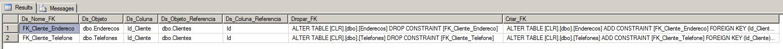 SQL Server - Chave estrangeira Foreign key FK