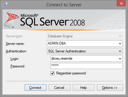 SQL Server - DAC Management Studio