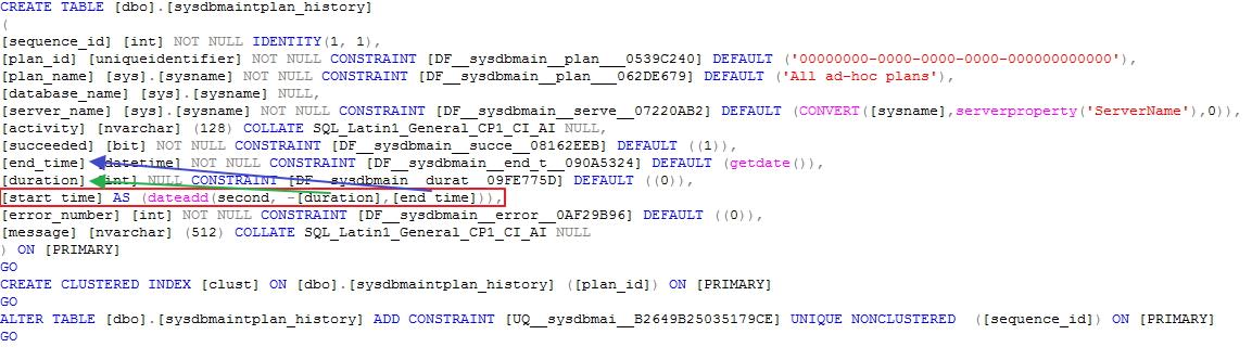 SQL Server Schema-Bound Dependency