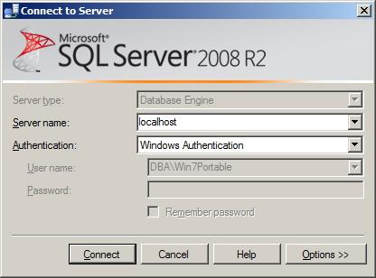 SQL Server - Local Connection Conexão Local