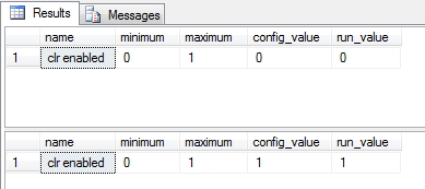 Habilitando CLR no SQL Server