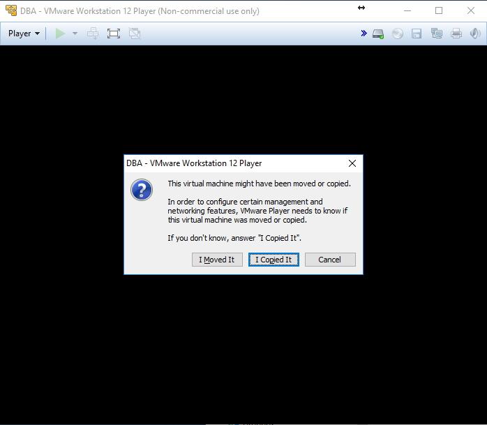 VMware Player - MAC Address duplicado duplicated