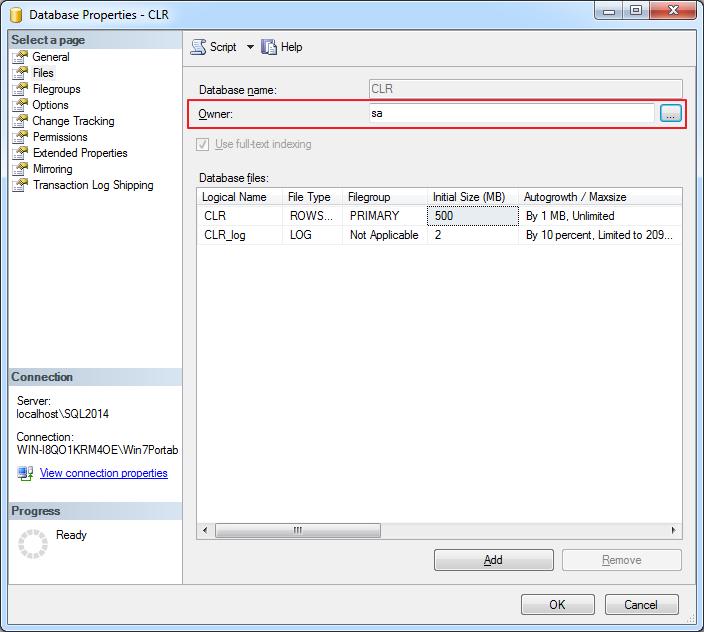 SQL Server - Change DB Owner