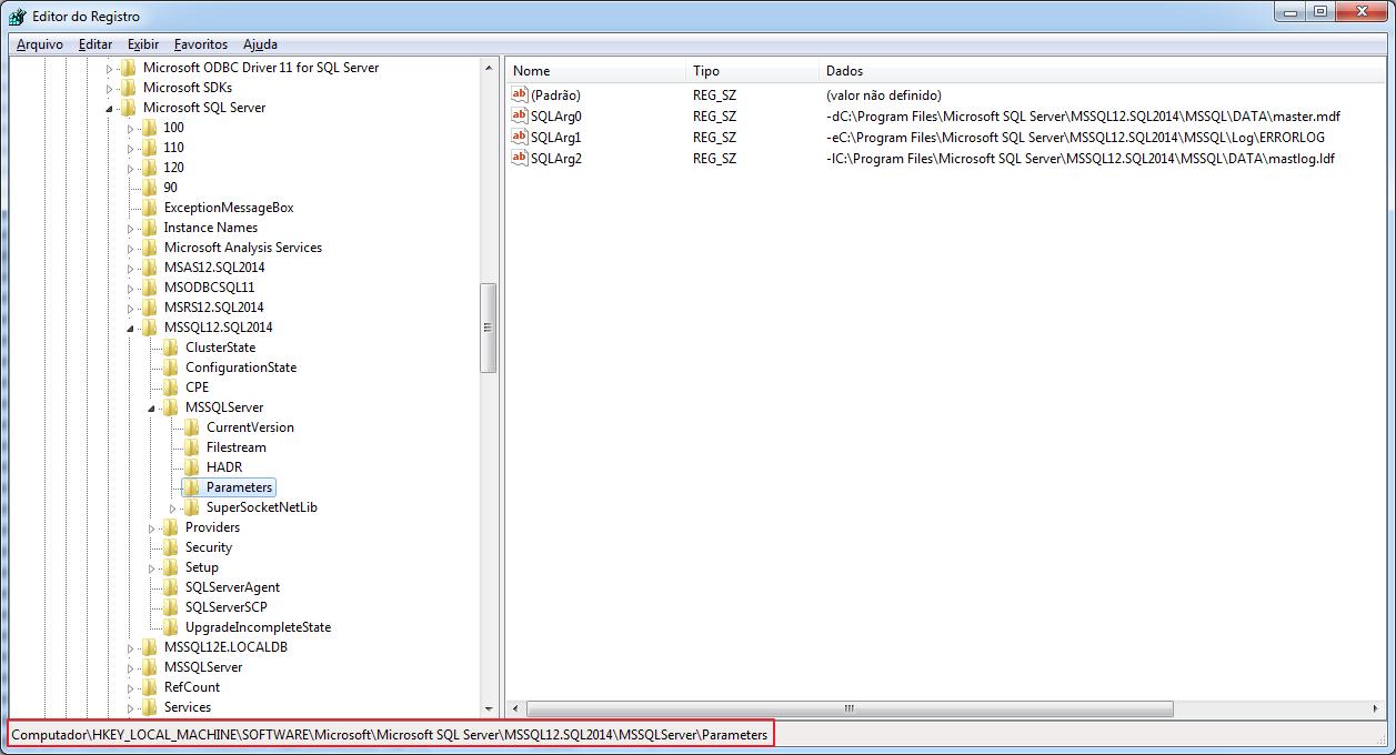 Sql server consultando informa es da inst ncia no - Porta sql server ...