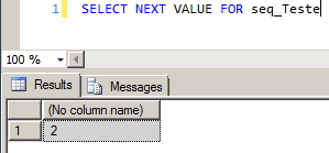 SQL Server - Sequence Next Value For