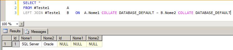 SQL Server - Collation conflit solving