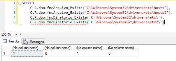 SQL Server - How to check if a file or directory exists with CLR