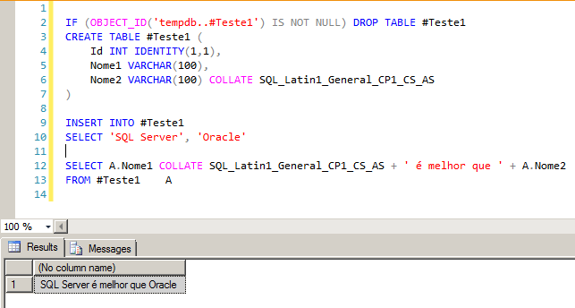 SQL Server - Implicit conversion of varchar value to varchar cannot be performed because the collation of the value is unresolved due to a collation conflict between 2