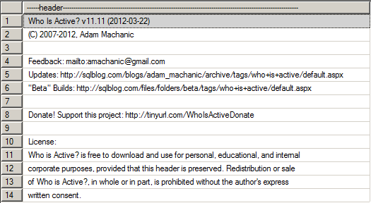 SQL Server - sp_WhoIsActive - Help 1