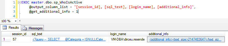 SQL Server - sp_WhoIsActive get_additional_info