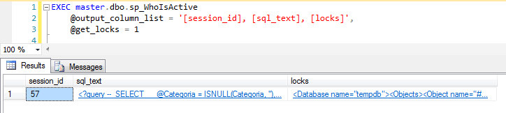 SQL Server - sp_WhoIsActive get_locks