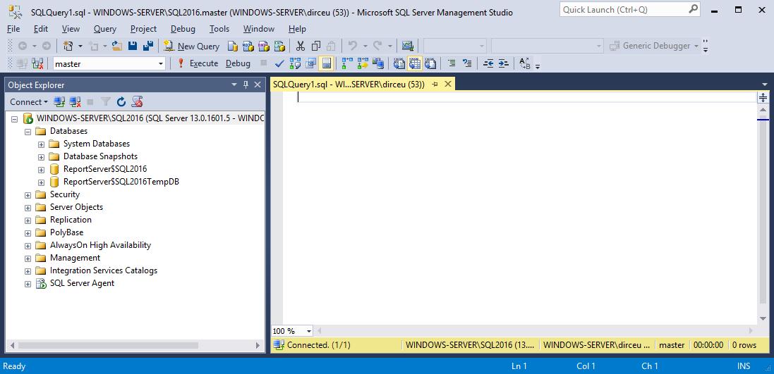 Como instalar e configurar o microsoft sql server 2016 no - Porta sql server ...